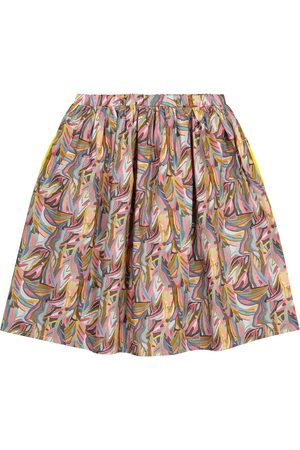 PAADE Printed cotton skirt