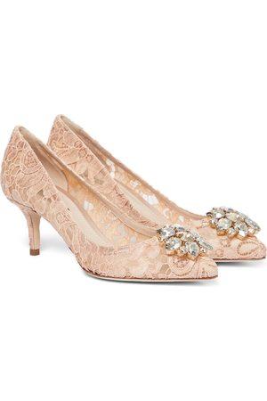 Dolce & Gabbana Dame Pumps - Bellucci embellished lace pumps