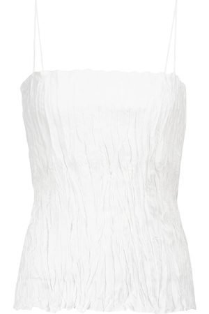 Totême Crinkled silk camisole