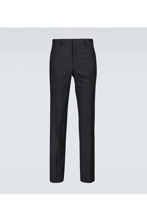 Comme des Garçons Homme Deux Wool chalk-striped pants