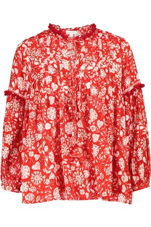 POUPETTE ST BARTH Dame Bluser - Exclusive to Mytheresa – Clara floral blouse