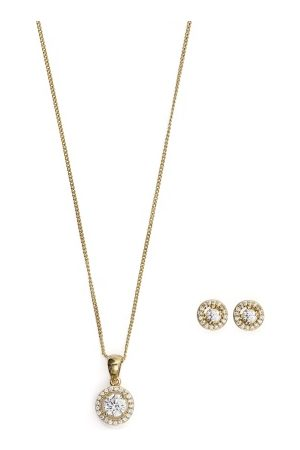 Ivory & Co Balmoral Gold Set Gold One size