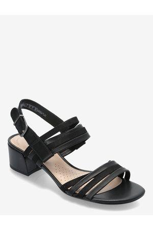 Clarks Dame Høyhælte sandaler - Caroleigh Bess Sandal Med Hæl
