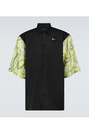 RAF SIMONS Printed short-sleeved shirt