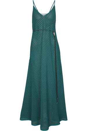 Bottega Veneta Striped cotton-blend maxi dress