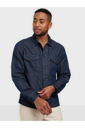 Selected Homme Herre Denimjakker - Slhandy 6270 Dark Blue Denim Jacket Skjorter Dark Blue Denim