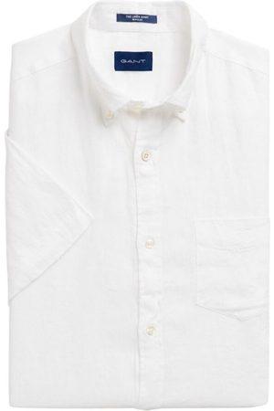 GANT Regular Fit Kortermet Linskjorte Skjorte