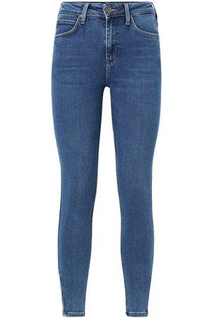 Lee Denim Scarlett High Zip Jeans