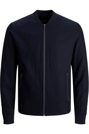 Jack & Jones Josh Linen Bomber Jacket