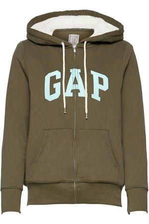 GAP Logo Sherpa Hoodie Hettegenser Genser