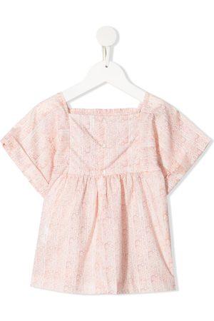 BONPOINT Jente Bluser - Smocked floral-print blouse