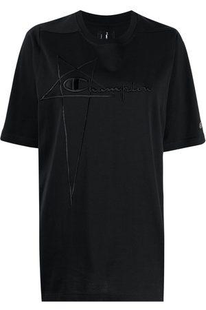 Rick Owens X Champion Dame Kortermede - Logo-print short-sleeved T-shirt