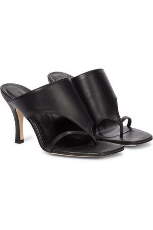 CHRISTOPHER ESBER Dame Høyhælte sandaler - Leather sandals