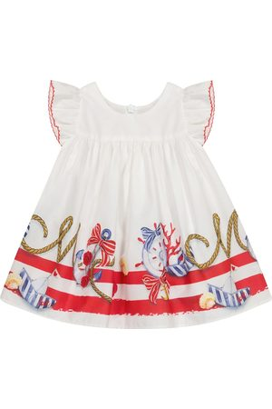 MONNALISA Baby cotton poplin dress