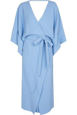 Roland Mouret Lashford stretch-crêpe midi dress