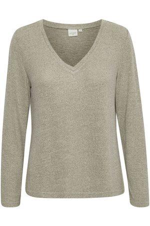 Cream Emmy Cr Long Sleeve T-Shirt Topper