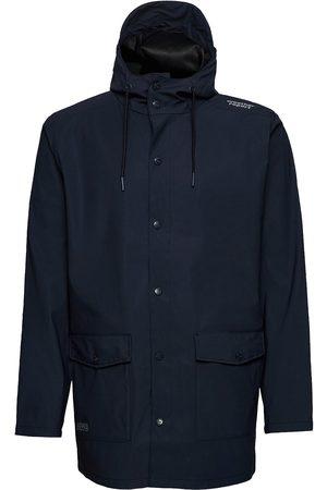 Weather Report Herre Regnjakker - Erik M Dull Pu Jacket W-Pro 5000 Outerwear Rainwear Rain Coats