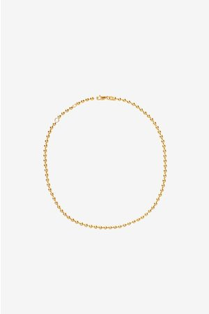 ANINE BING 14k Yellow Gold Beaded Necklace
