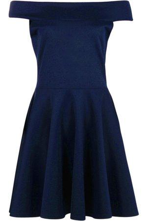 Boohoo Dame Hverdagskjoler - Off The Shoulder Skater Dress