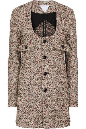 Bottega Veneta Cotton-blend bouclé jacket