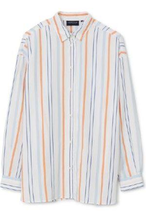 Lexington Herre Langermede - Edith Striped Shirt