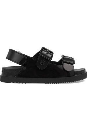 Gucci Dame Sandaler - Women's sandal with mini Double G