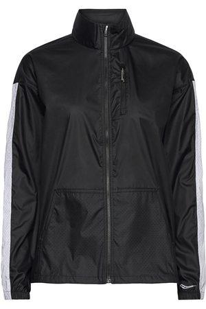 Saucony Dame Turjakker - Packaway Jacket Outerwear Sport Jackets