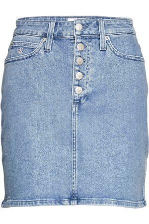 Calvin Klein Pride Denim Skirt Kort Skjørt Blå