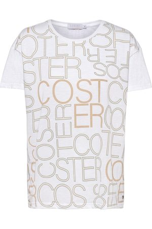 Coster Copenhagen Over T-Shirt With Logo Print T-shirts & Tops Short-sleeved
