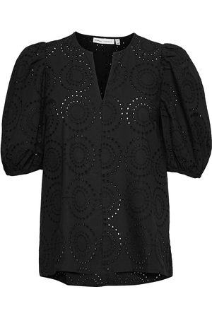 INWEAR Dame Kortermede - Harleneiw Debby Blouse Blouses Short-sleeved
