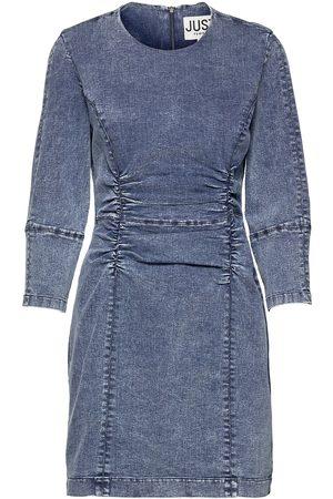 Just Female Glacier Denim Dress Dresses Bodycon Dresses