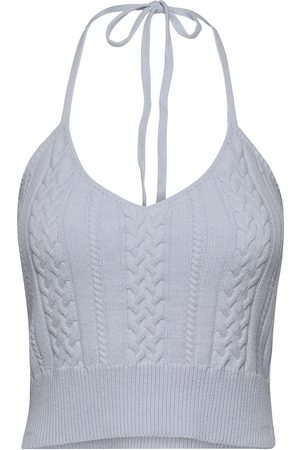 Gestuz Dame Topper - Soleygz Top T-shirts & Tops Knitted T-shirts/tops Creme