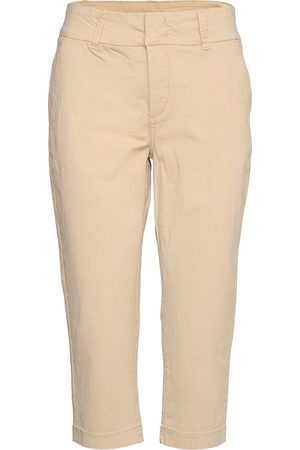 Part Two Soffiepw Pa Trousers Capri Trousers Beige
