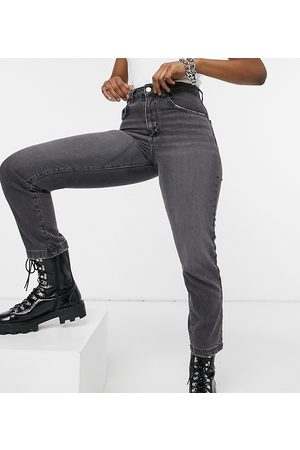 Reclaimed Inspired The 90s straight jean in grey wash