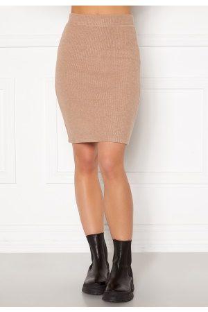 VILA Dame Miniskjørt - Haudi Knit Skirt Nomad S