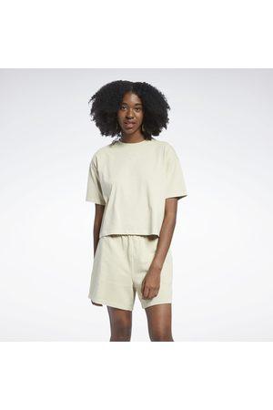 Reebok Classics Natural Dye Cropped T-Shirt
