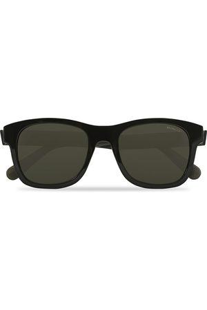 Moncler Lunettes Herre Solbriller - ML0192 Sunglasses Black/Smoke Polarized