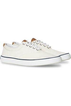 Sperry Striper II Canvas Sneaker White