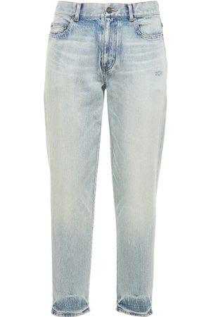 Saint Laurent Straight Fit Denim Jeans