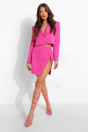 Boohoo Mix And Match Brights Mini Skirt