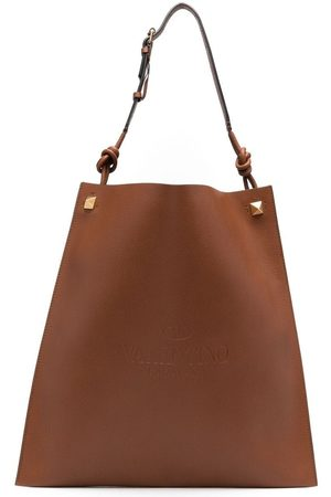 VALENTINO GARAVANI Herre Tote bags - Identity leather tote bag