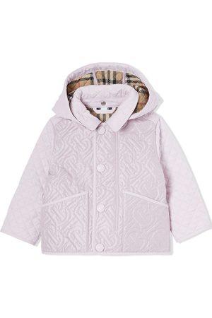 Burberry Kåper - Padded hooded coat
