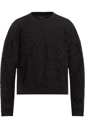 AMIRI Herre Sweatshirts - Sweatshirt with decorative holes
