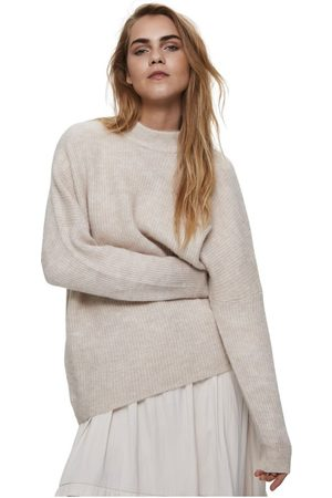 SELECTED Slflulu Enica LS Knit O-Neck