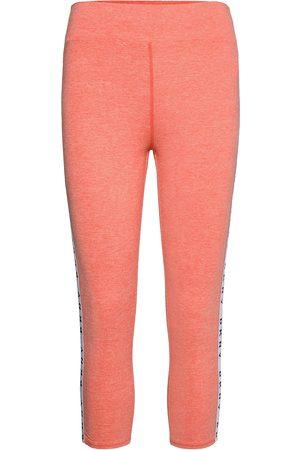 DKNY Dame Leggings - Dkny Technical Jersey Crop Sleep Legg. Leggings Rosa