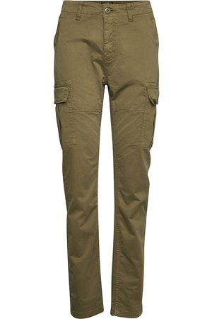 Superdry Dame Smale bukser - Slim Cargo Pant Slimfit Bukser Stoffbukser