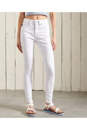 Superdry Dame Skinny - Skinny jeans med høyt liv