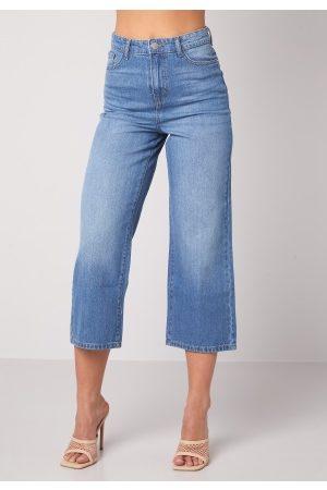 Happy Holly Pamela wide leg culotte jeans Medium denim 34