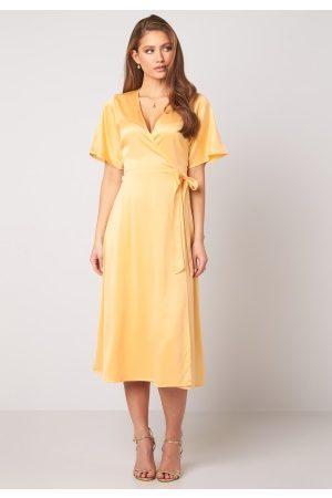 BUBBLEROOM Scala dress Yellow 42