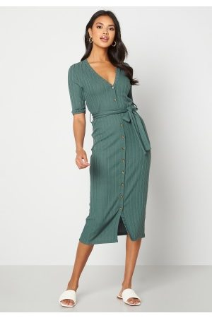 Happy Holly Sandie knitted dress Green 36/38